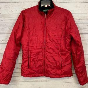 LL BEAN Fleece lines jacket M